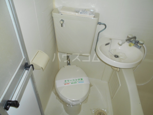池田ハイツB 213号室のトイレ