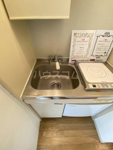 レオパレス江戸川台第14 201号室のキッチン