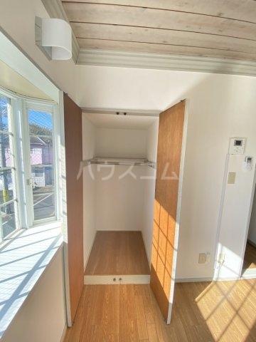 レオパレス江戸川台第14 201号室の収納
