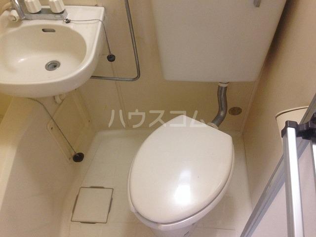 ドゥエルカネヒラ 305号室のトイレ