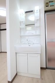 ローズマンション 303号室の洗面所