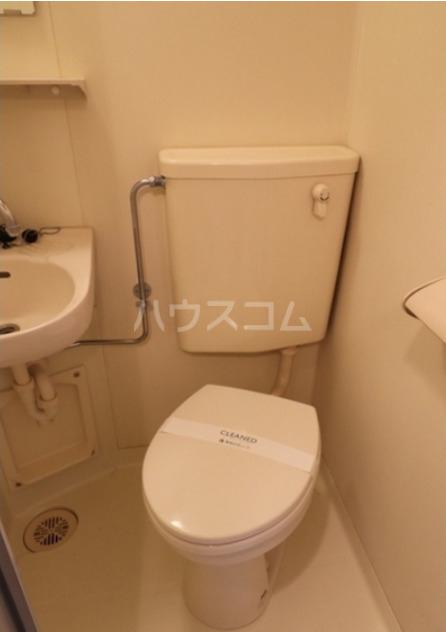 馬絹ハイツ 103号室のトイレ