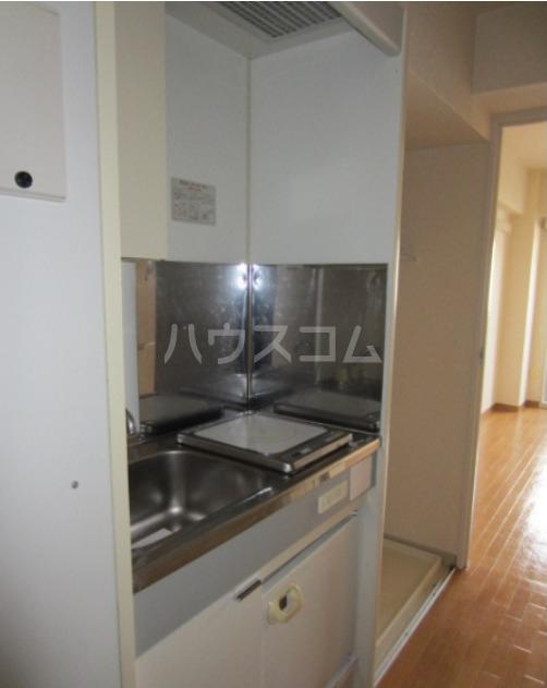 馬絹ハイツ 208号室のキッチン