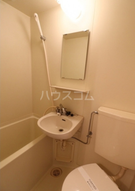 馬絹ハイツ 208号室の風呂