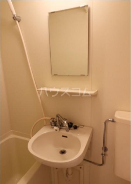 馬絹ハイツ 208号室の洗面所