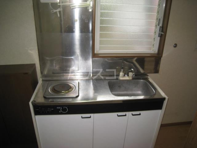 きよ松原 203号室のキッチン