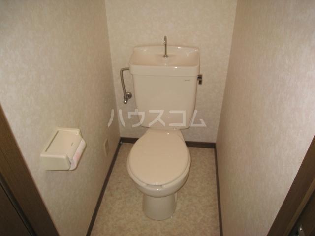きよ松原 203号室のトイレ