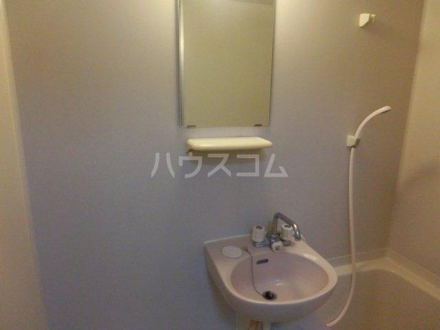きよ松原 203号室の洗面所