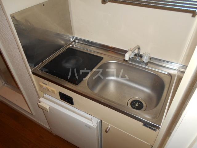 アーク鴨宮 202号室のキッチン