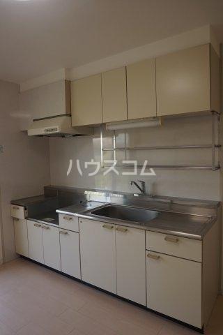 石井ラインマンション 402号室のキッチン