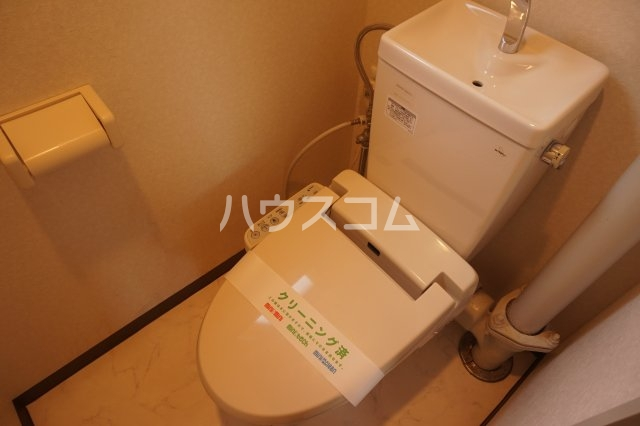 石井ラインマンション 402号室のトイレ