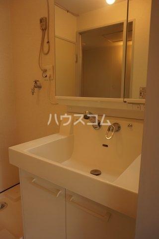 石井ラインマンション 402号室の洗面所