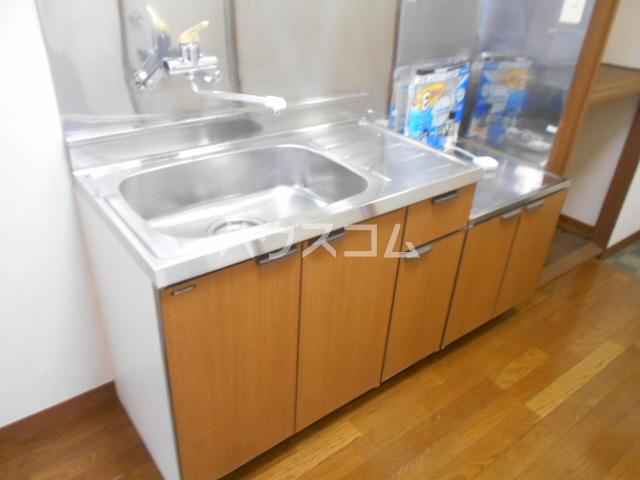 サンハイム湯河原 502号室のキッチン