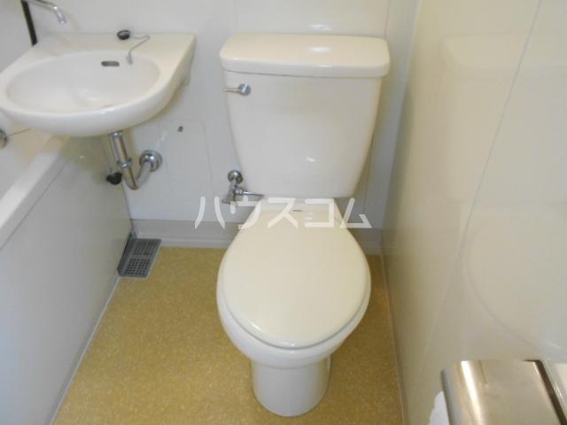 サンハイム湯河原 502号室のトイレ