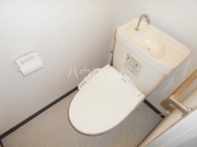アミニティー鷺沼 507号室のトイレ