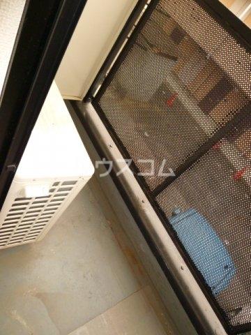 メイプル1 205号室のバルコニー