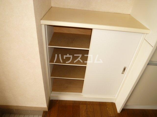 メイプル1 205号室の収納
