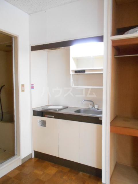 長秀ビル 202号室のキッチン