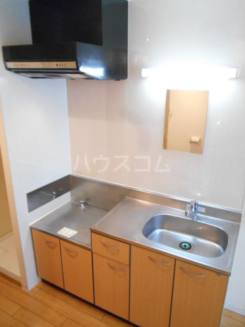 フローラ4 424号室のキッチン