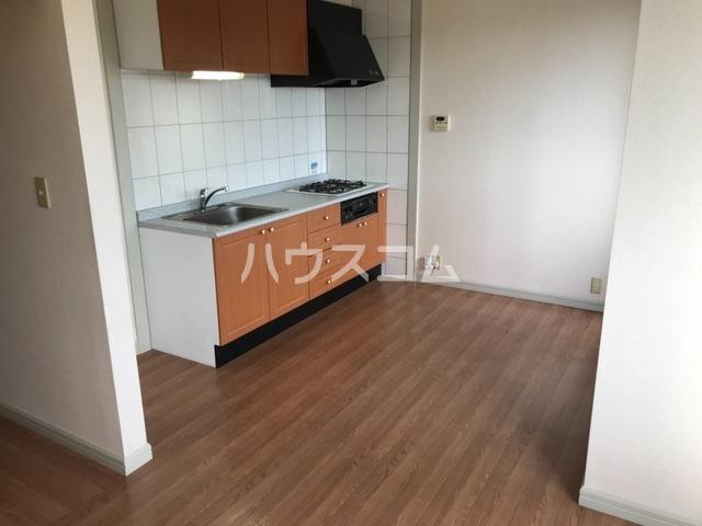 ラフレシール 205号室のキッチン