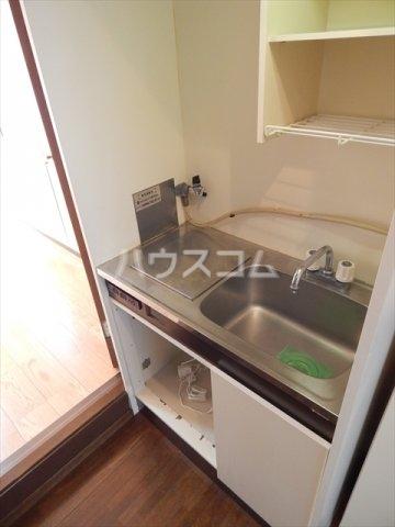 サンシャトー姫宮 108号室のキッチン