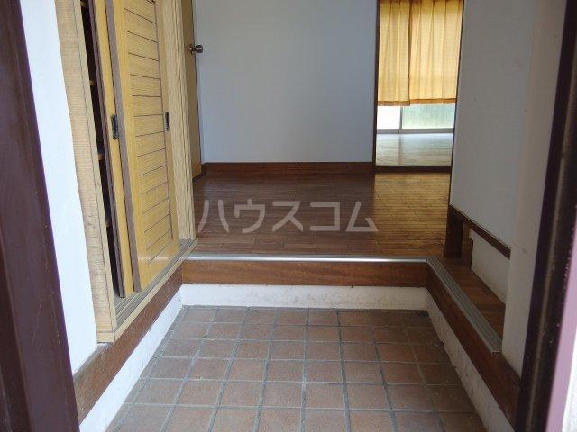 英進ハイツ 105号室の玄関