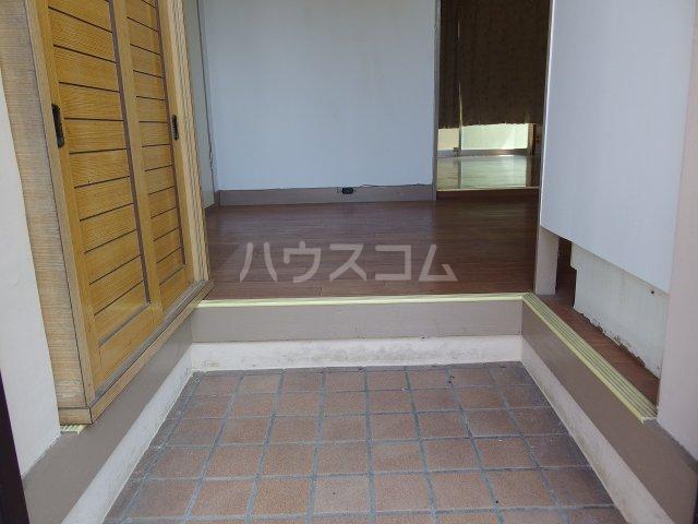 英進ハイツ 107号室の玄関