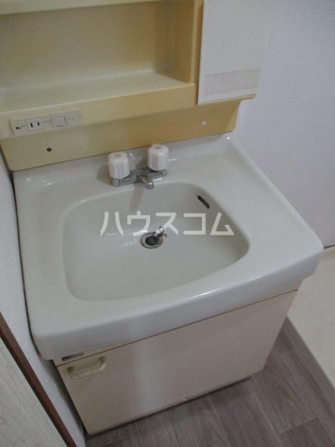 サンシャイン鳥居松 401号室の洗面所