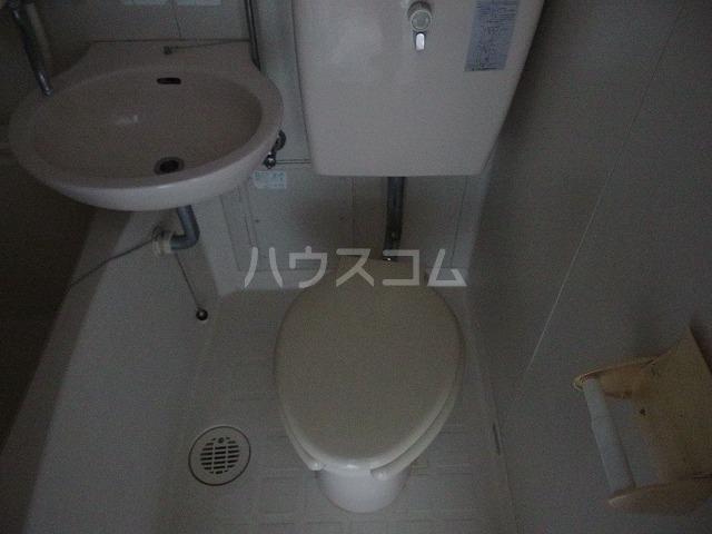 コーポ青木第2 201号室のトイレ
