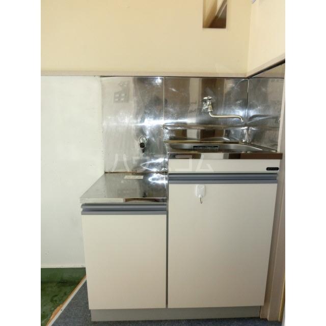 ハイムキタウラ 202号室のキッチン