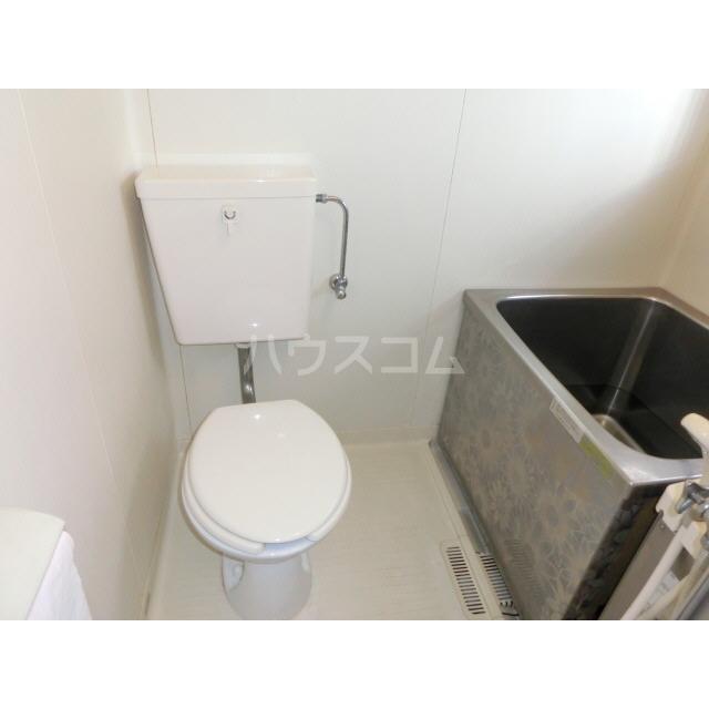 ハイムキタウラ 202号室のトイレ