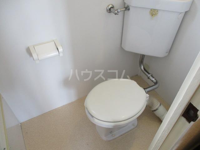 コーポ比叡 201号室のトイレ