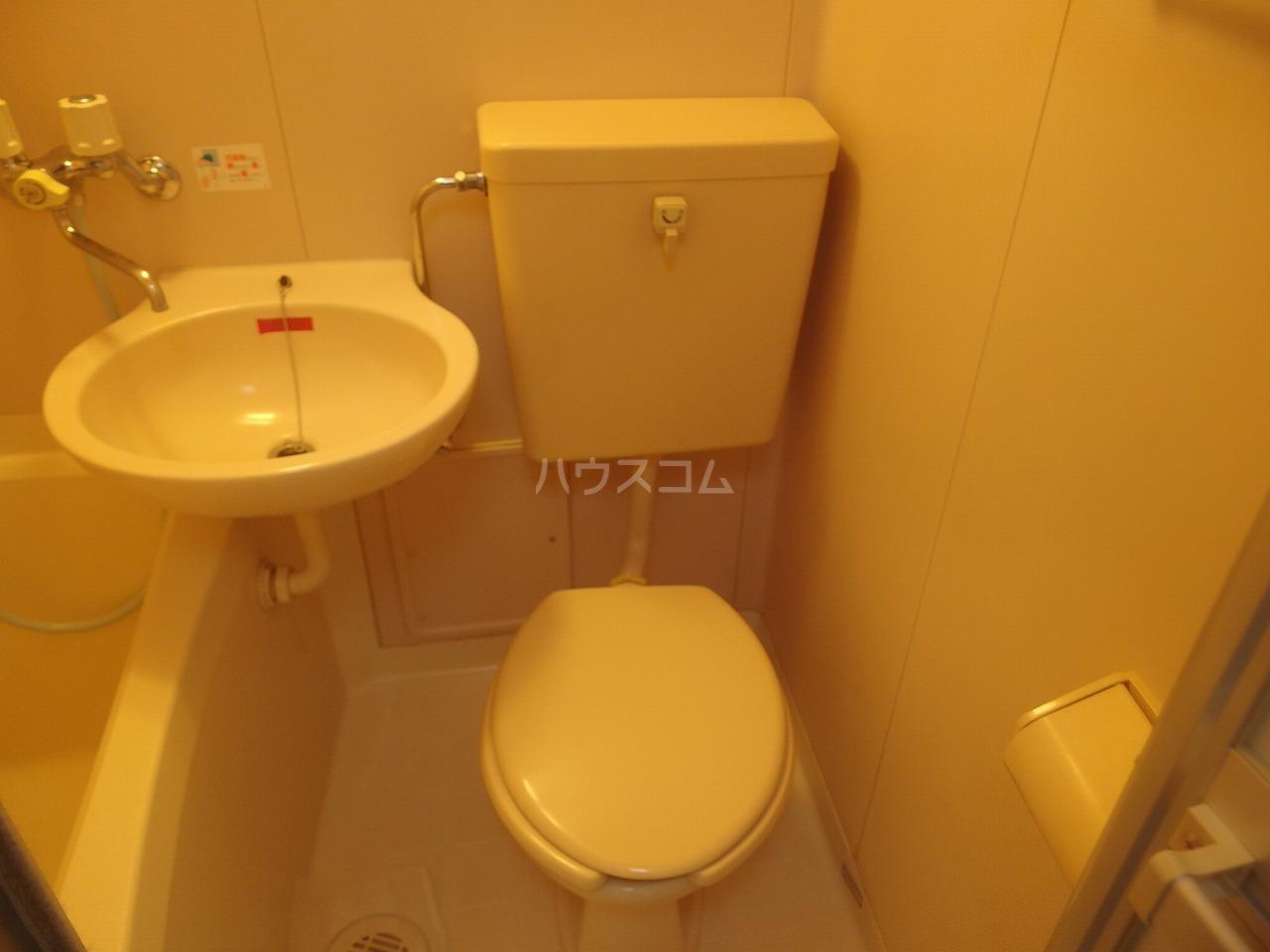 コートニュータウン 105号室のトイレ