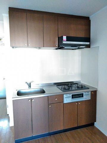 サンリバー 1C号室のキッチン