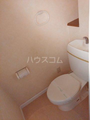 サンリバー 1C号室のトイレ