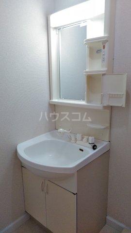 サンリバー 1C号室の洗面所