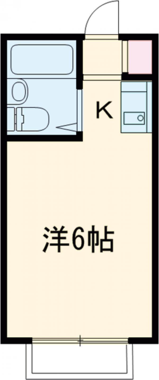 サンライズ桜ヶ丘・102号室の間取り