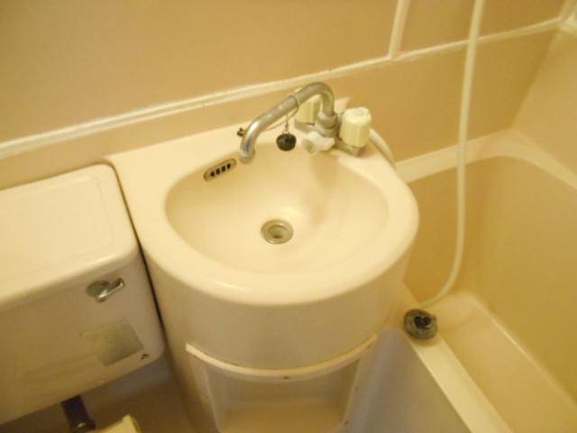 サンライズ桜ヶ丘 102号室の洗面所