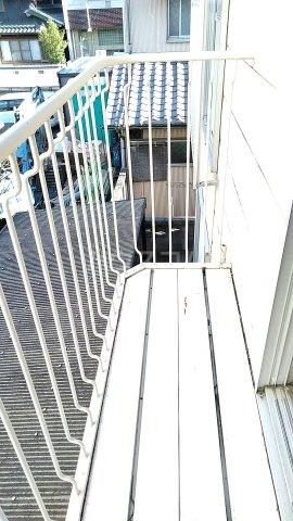 サンハイツ林1 202号室のバルコニー