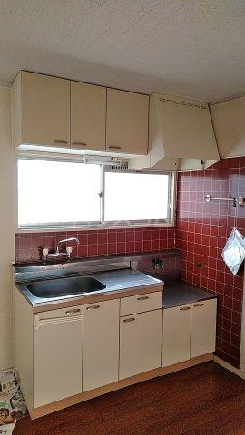 サンハイツ林1 202号室のキッチン