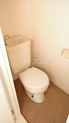 サンハイツ林1 202号室のトイレ