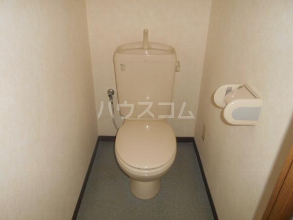 グレースハイツ岩崎 1FD号室のトイレ