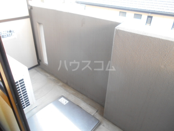 グレースハイツ岩崎 1FD号室のバルコニー