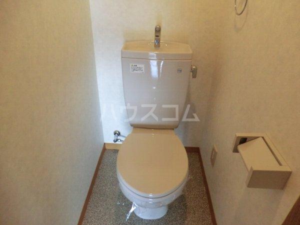 プリミエール大和通 201号室のトイレ