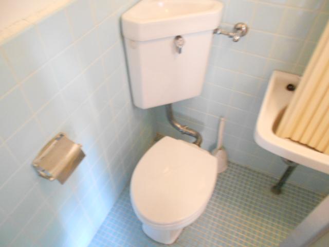 走井ハイツ 202号室のトイレ