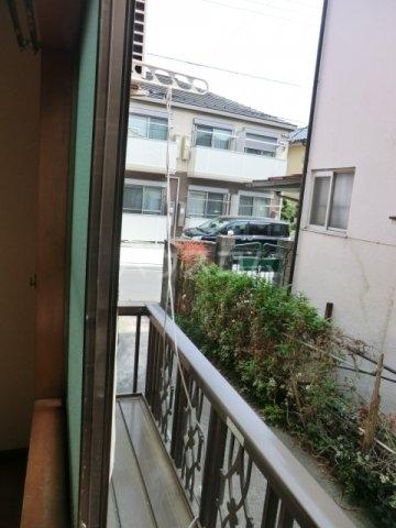カサイハイム第2 102号室のバルコニー