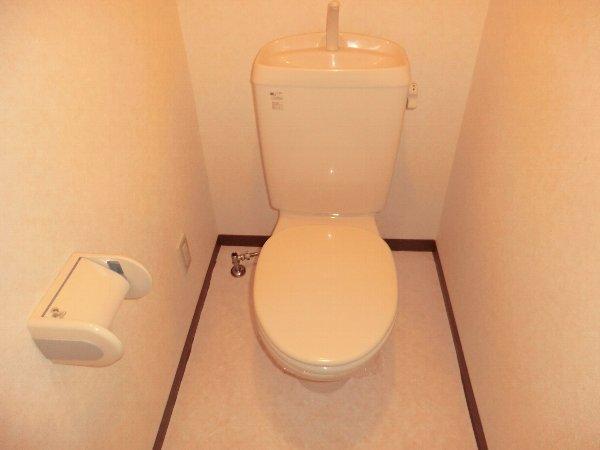 ヴィーヴル春日井 202号室のトイレ