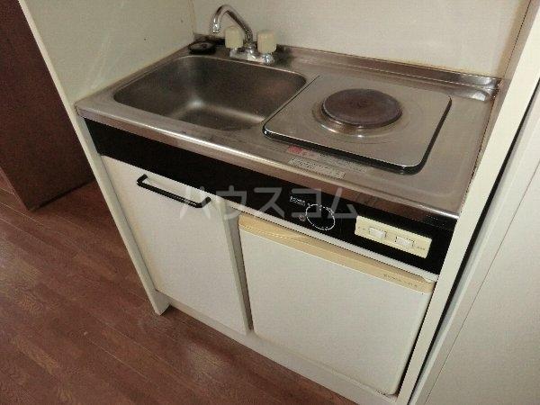 プリミエール八光 301号室のキッチン