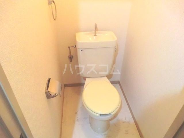 コーポ富丘 202号室のトイレ