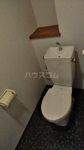 メゾンメルベーユ 201号室のトイレ